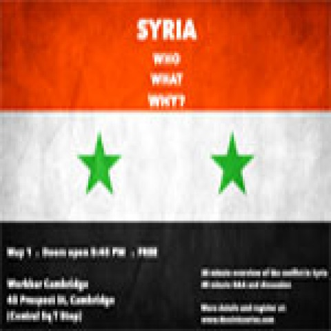 Event Summary: Syria – May 1, 2014 (Boston)