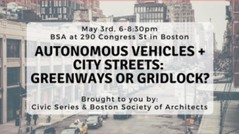 Event Summary: Autonomous Vehicles and City Streets