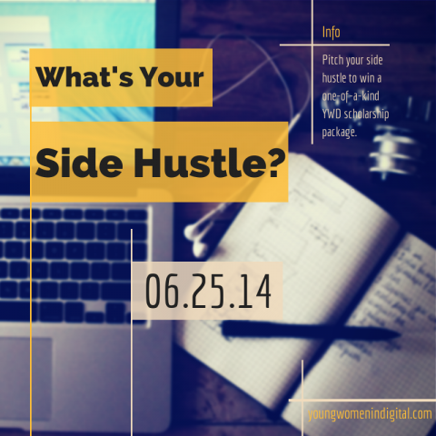 Civic Series chosen as a finalist for Young Women in Digital's What's Your Side Hustle