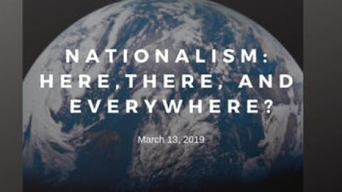 Event Summary: Nationalism